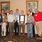 Murl Butler receives Lifetime Achievement Award from Board of Directors of the Chip Seal Association