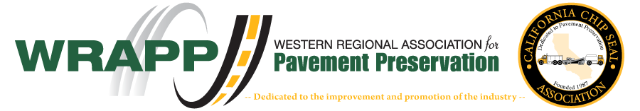 Western Regional Association for Pavement Preservation Logo